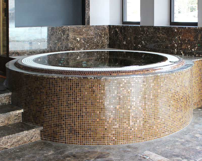 construction spa prive carrele mosaiques