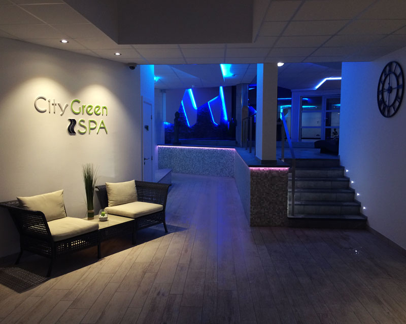 entree spa city green